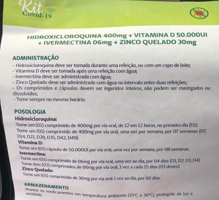 VERIFICAMOS: Distribuição de kits Covid-19 daUnimed