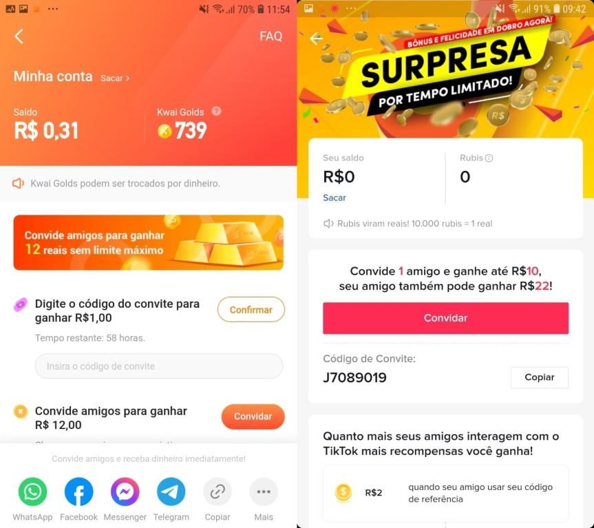 COAMOS: Baixar aplicativo Kwai oferece retornofinanceiro?