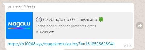 COAMOS: Magazine Luiza está dando presentes em comemoração aos seus 60anos?